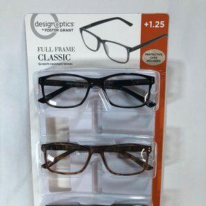 3-pack Reading Glasses  +1.25